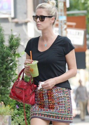 Nicky Hilton at Organic Avenue in New York