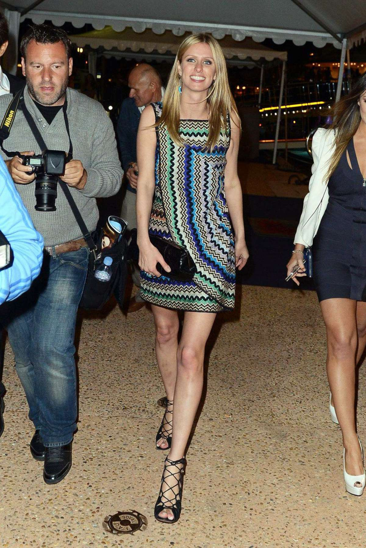 Nicky Hilton - Sean Combs Yacht Party - Cannes 2012