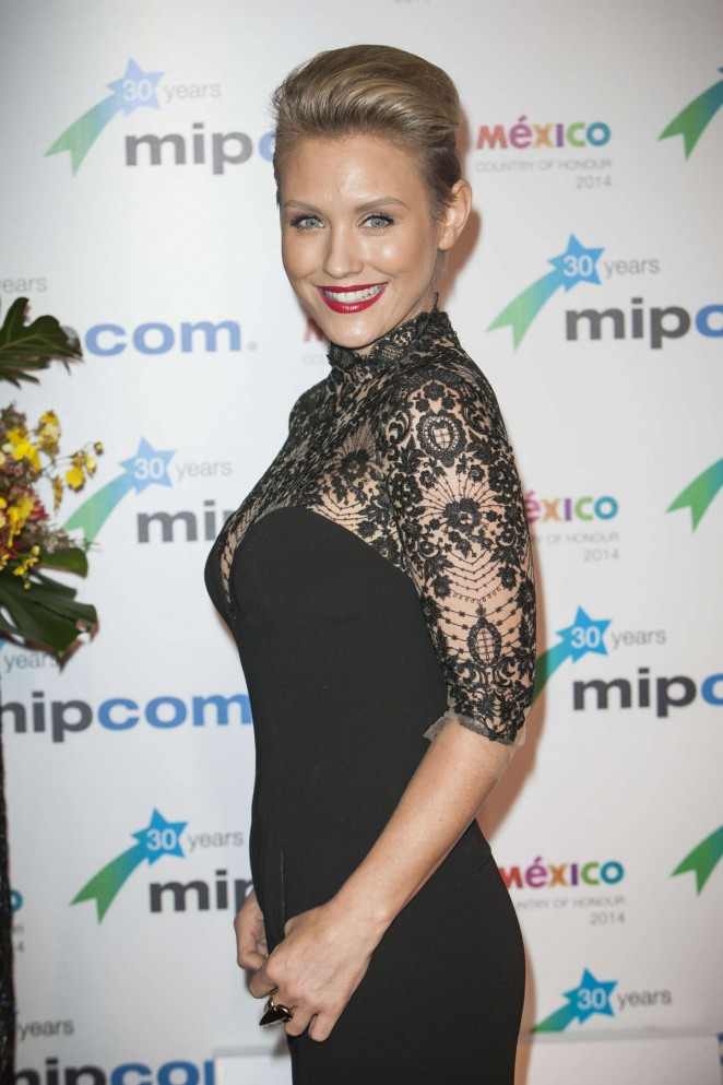 Nicky Whelan - 2014 MIPCOM Opening party held at the Hotel Martinez in Cannes, France
