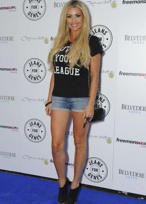 Nicola McLean - 2014 Jeans for Genes Day in London