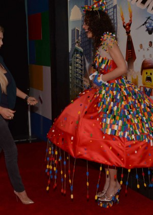 Nicola McLean: The Lego Movie Premiere -04