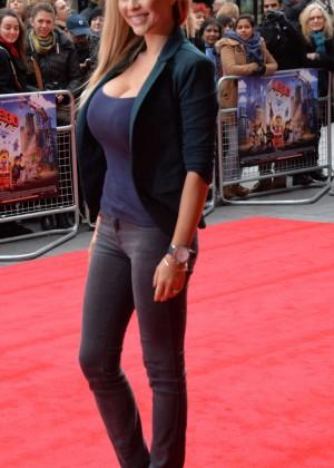Nicola McLean: The Lego Movie Premiere -05