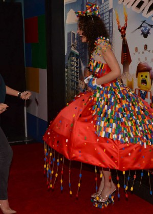 Nicola McLean: The Lego Movie Premiere -07