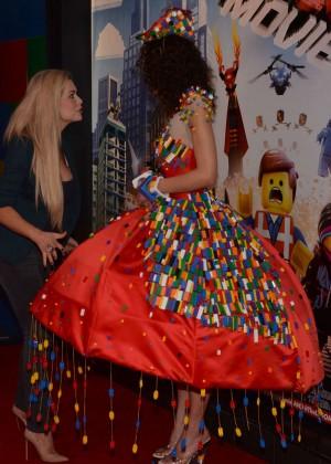 Nicola McLean: The Lego Movie Premiere -11