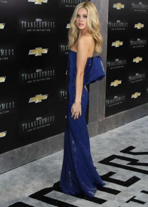 Nicola Peltz - Transformers Age of Extinction NY Premiere -07