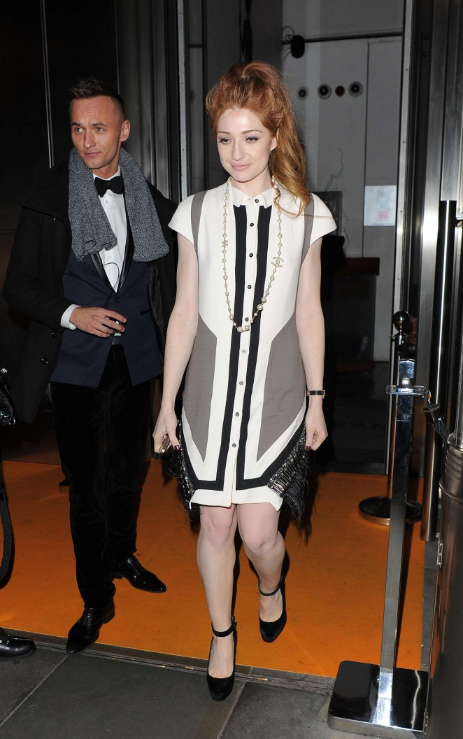 Nicola Roberts – SushiSama 2nd Anniversary Party in London