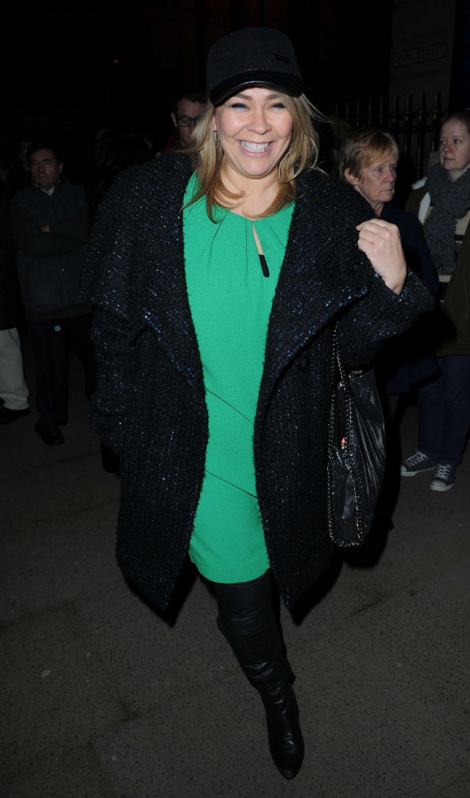 Nicole Barber Lane - Saturday Night Fever Press Night in Manchester