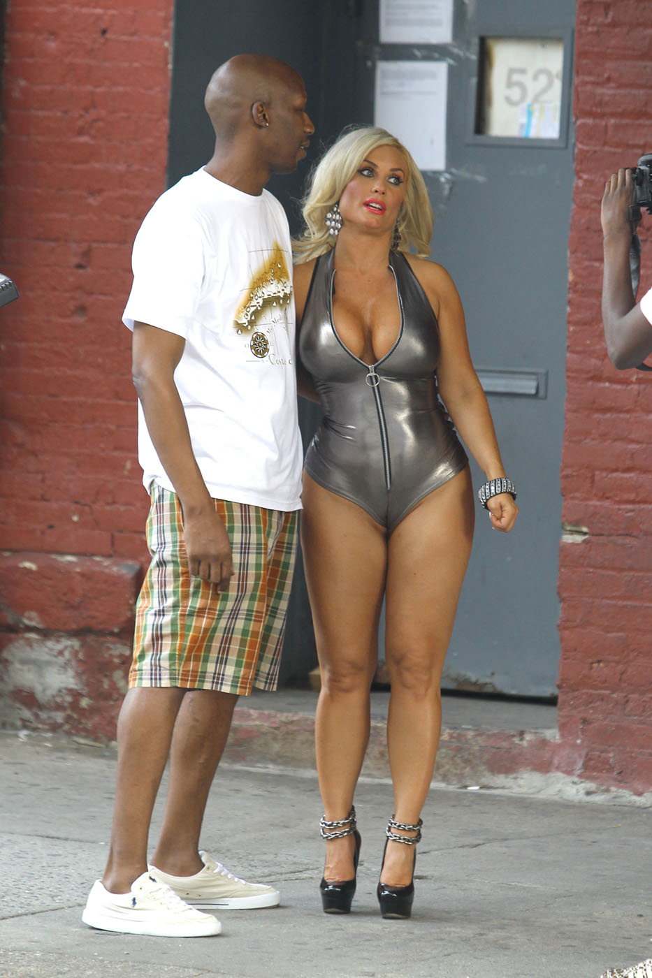 Nicole Coco Austin – on set of a photoshoot in New York-10 - Full