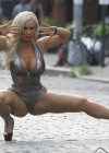 Nicole Coco Austin - on set of a photoshoot in New York-14