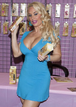 Nicole Coco Austin in Blue Mini Dress -06