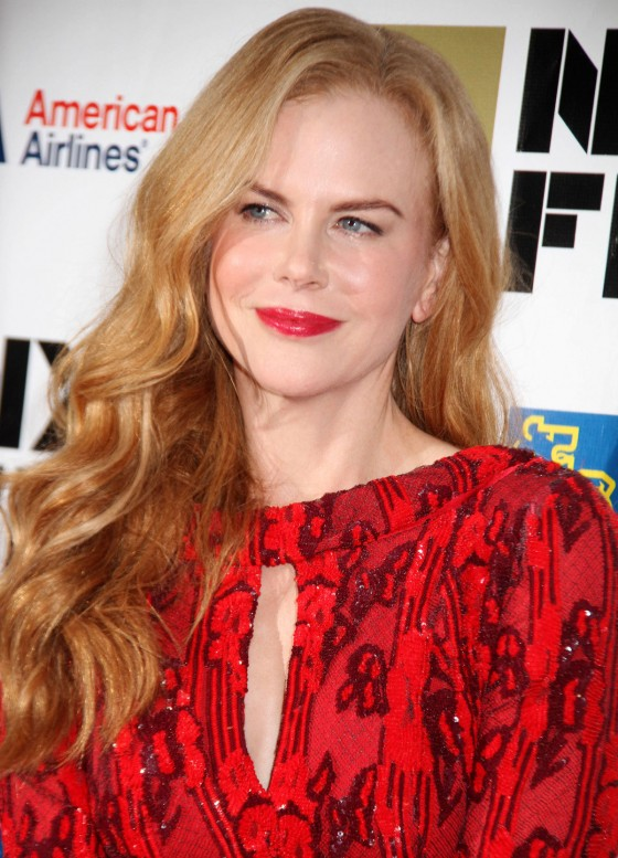 Nicole Kidman - In a red dress at 50th Annual New York Film Festival ...