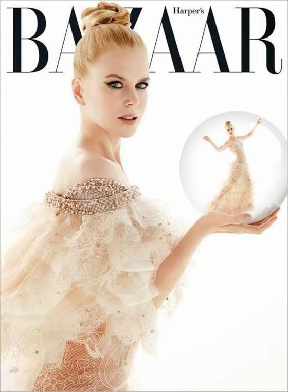 Nicole Kidman – Harper's Bazaar Australia Cover (December 2013)