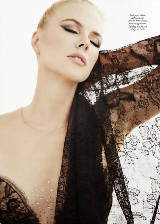 Nicole Kidman: Harpers Bazaar Australia 2013 -02