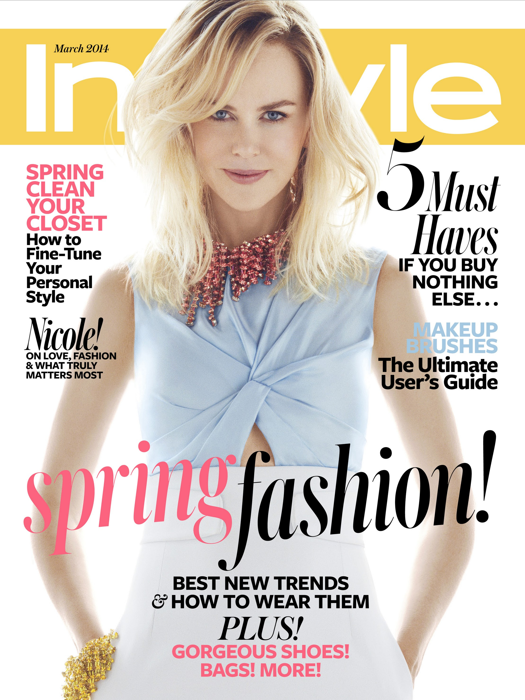 Instyle Magazine Us: InStyle Magazine (March 2014)