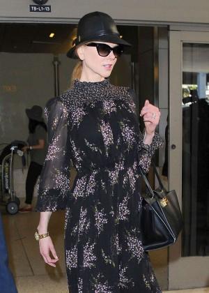 Nicole Kidman at LAX Airport in LA