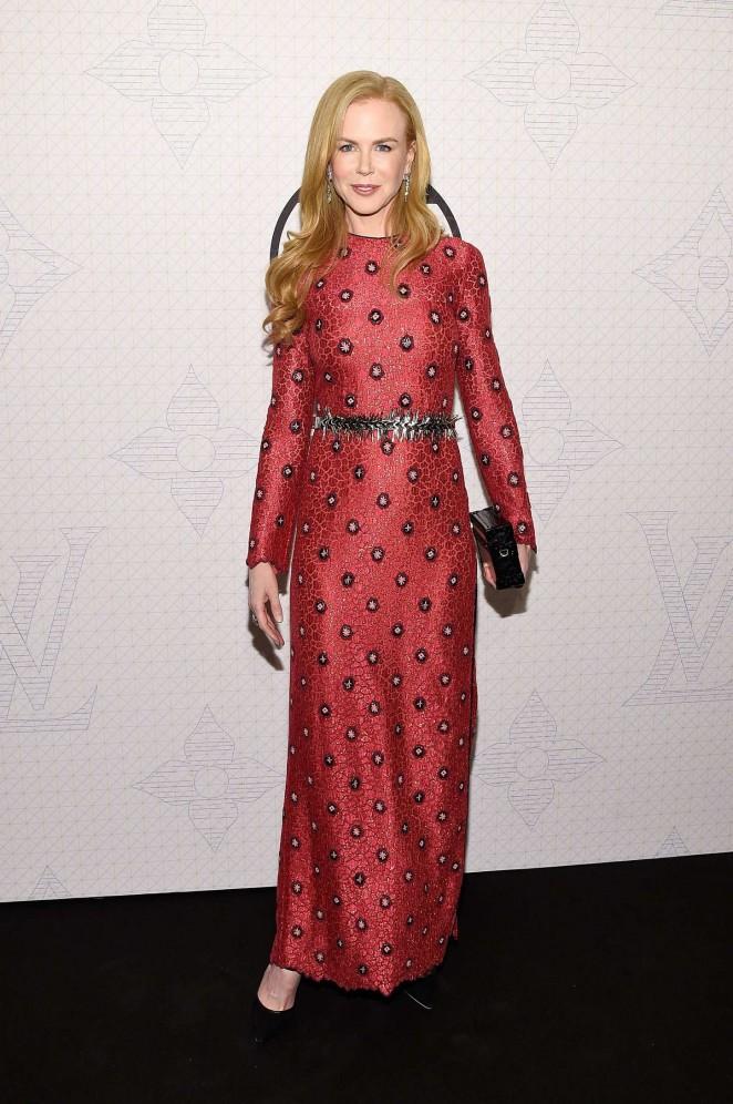 Nicole Kidman - Louis Vuitton Monogram Celebration in NYC