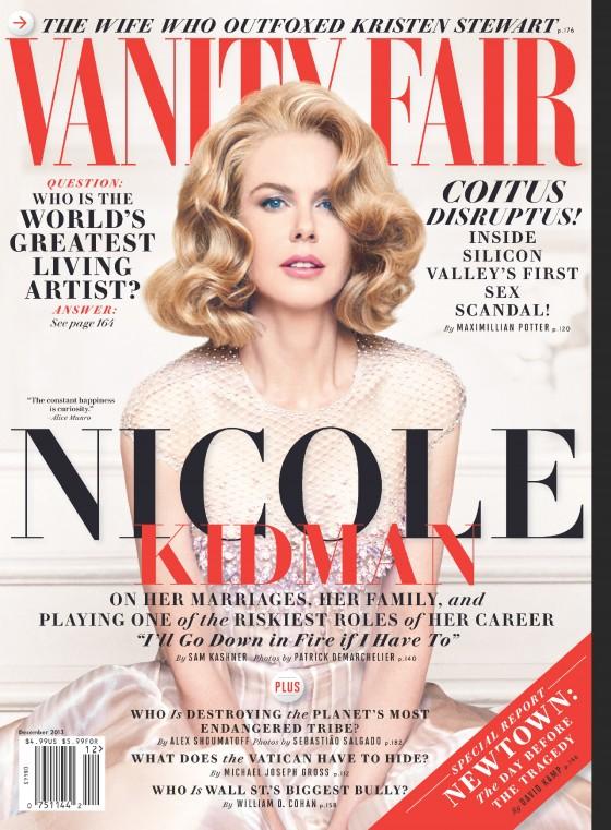 Elegant Nicole Kidman U2013 Vanity Fair Magazine (December 2013)