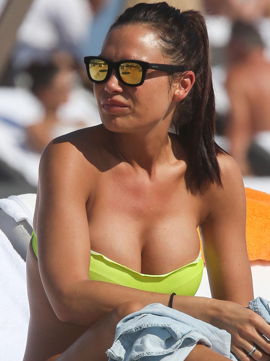 Nicole Minetti in bikini -12 - GotCeleb Lindsay Lohan 2017
