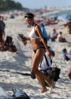 Nicole Mitchell and Claudia Jordan - Bikinis Candids in Miami -24