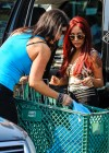Nicole Polizzi and Jenni Farley - Filming their show in Jersey -01