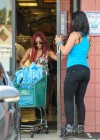 Nicole Polizzi and Jenni Farley - Filming their show in Jersey -03