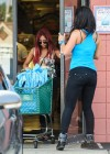 Nicole Polizzi and Jenni Farley - Filming their show in Jersey -04