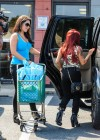 Nicole Polizzi and Jenni Farley - Filming their show in Jersey -05