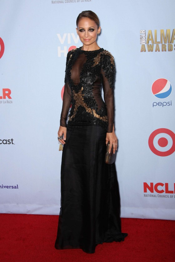 Nicole Richie NCLR ALMA Awards 2012 in Pasadena
