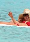 Nicole Richie in Bikini at the beach in St Barts -04