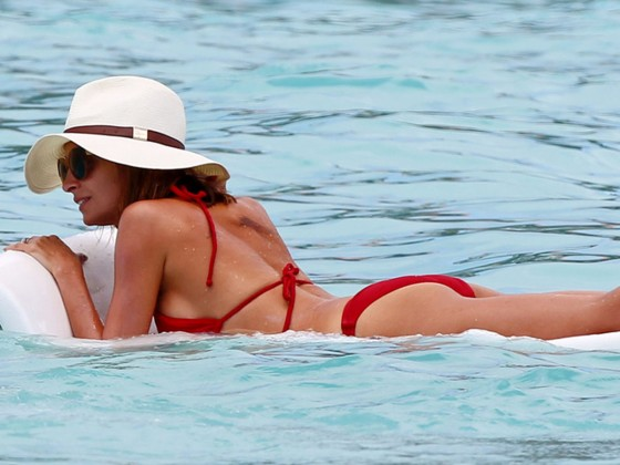 Nicole Richie in Bikini at the beach in St Barts -08
