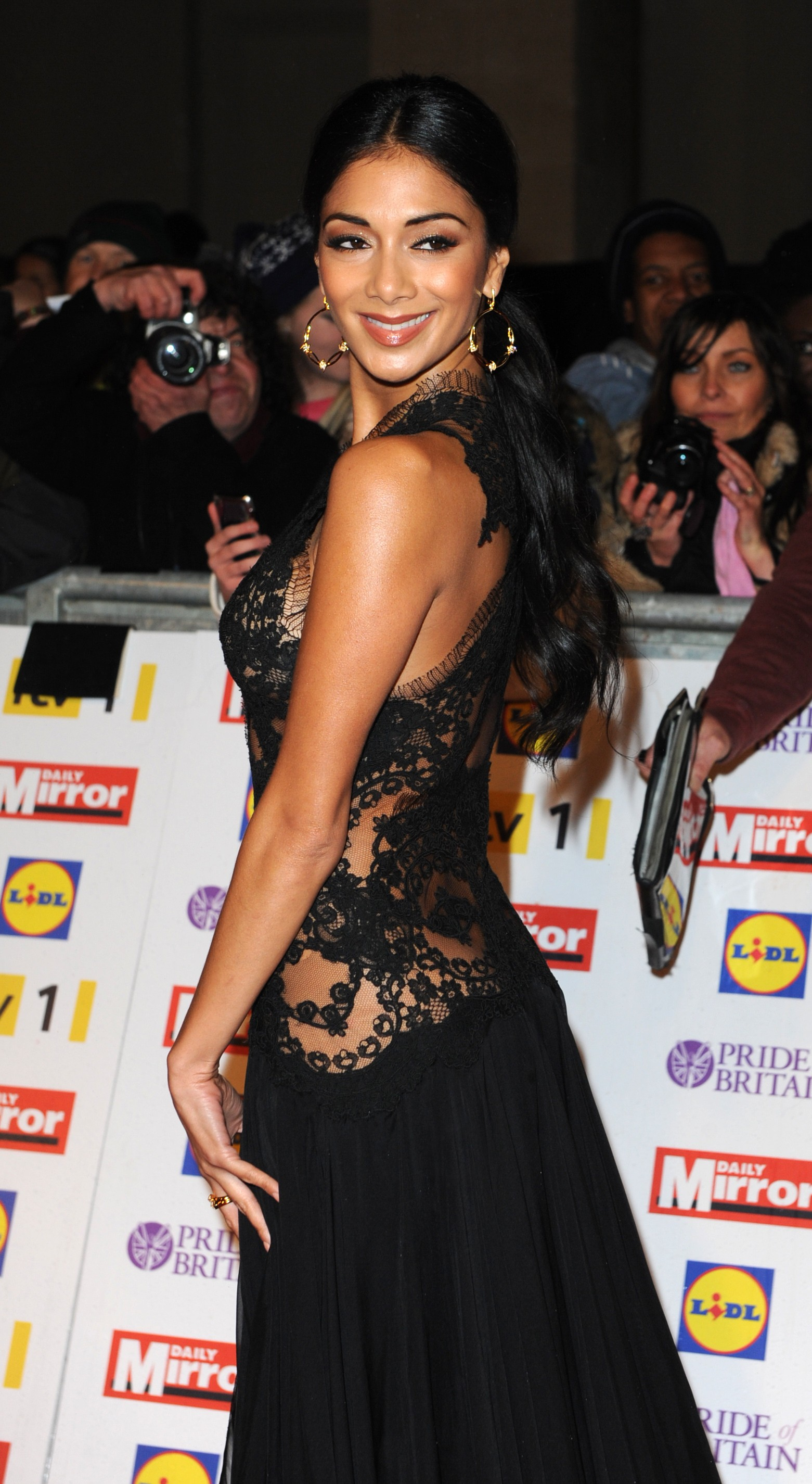 Nicole Scherzinger at The Pride of Britain Awards-06