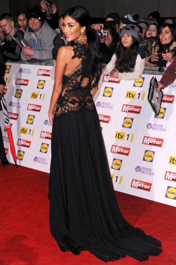 Nicole Scherzinger at The Pride of Britain Awards-13