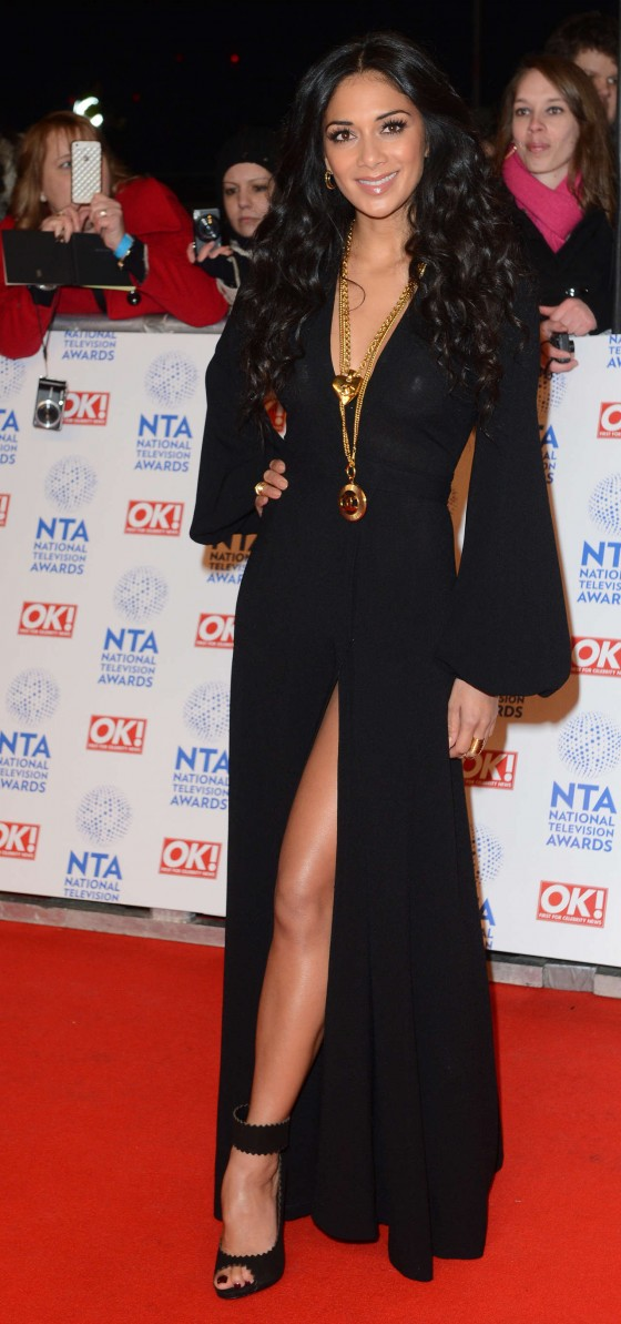 Nicole Scherzinger - National Television Awards 2013 at The O2 Arena in London