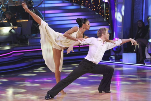 Nicole Scherzinger at Dancing with the Stars