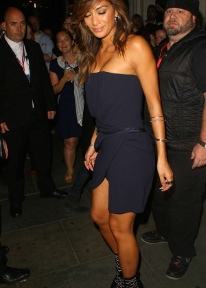 Nicole Scherzinger in Mini Dress at 'Sunday Night at the Palladium' in London