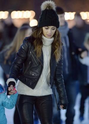 Nicole Scherzinger at Winter Wonderland in London