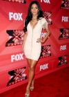 Nicole Scherzinger - Cleavy and leggy at X Factor Press Conference in LA-03