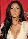 Nicole Scherzinger - Cleavy and leggy at X Factor Press Conference in LA-07