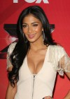 Nicole Scherzinger - Cleavy and leggy at X Factor Press Conference in LA-14