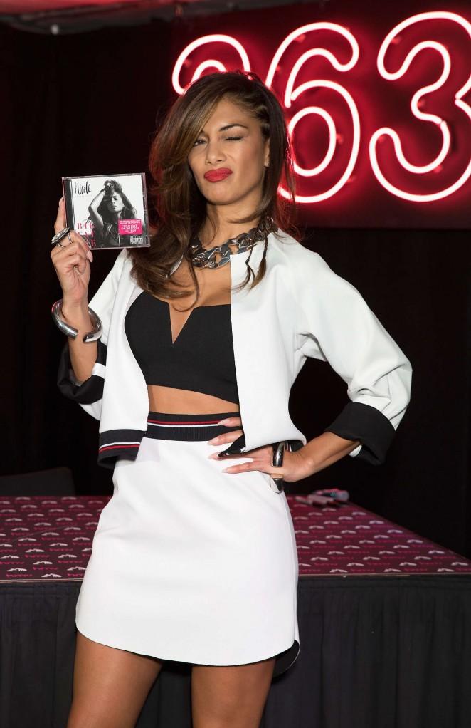 """Nicole Scherzinger - """"Big Fat Lie"""" Album Signing at HMV Oxford St in London"""