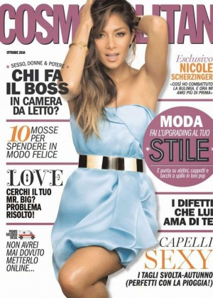 Nicole Scherzinger - Cosmopolitan Italy Magazine (October 2014)