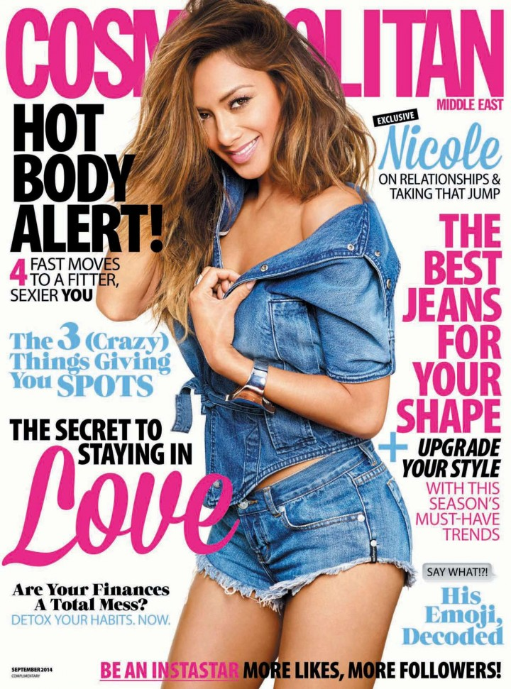 Nicole Scherzinger - Cosmopolitan Middle East (September 2014)