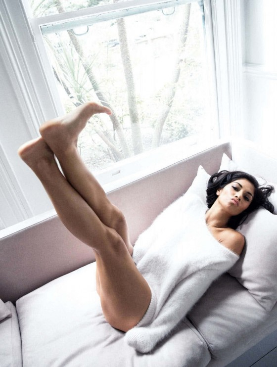Nicole Scherzinge: Glamour Magazine (October 2013) -02