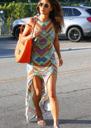 Nicole Scherzinger - Going to a hair salon in Beverly Hills