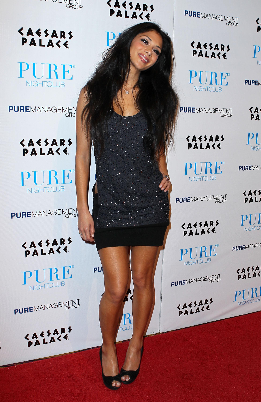 Nicole Scherzinger 2010 : nicole-scherzinger-hosting-the-pure-nightclub-at-caesars-palace-2010-15