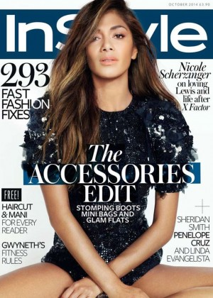 Nicole Scherzinger - InStyle UK Cover Magazine (October 2014)