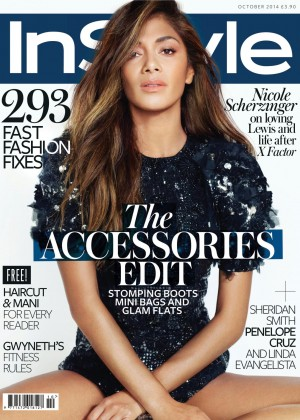 Nicole Scherzinger - InStyle UK Magazine (October 2014)