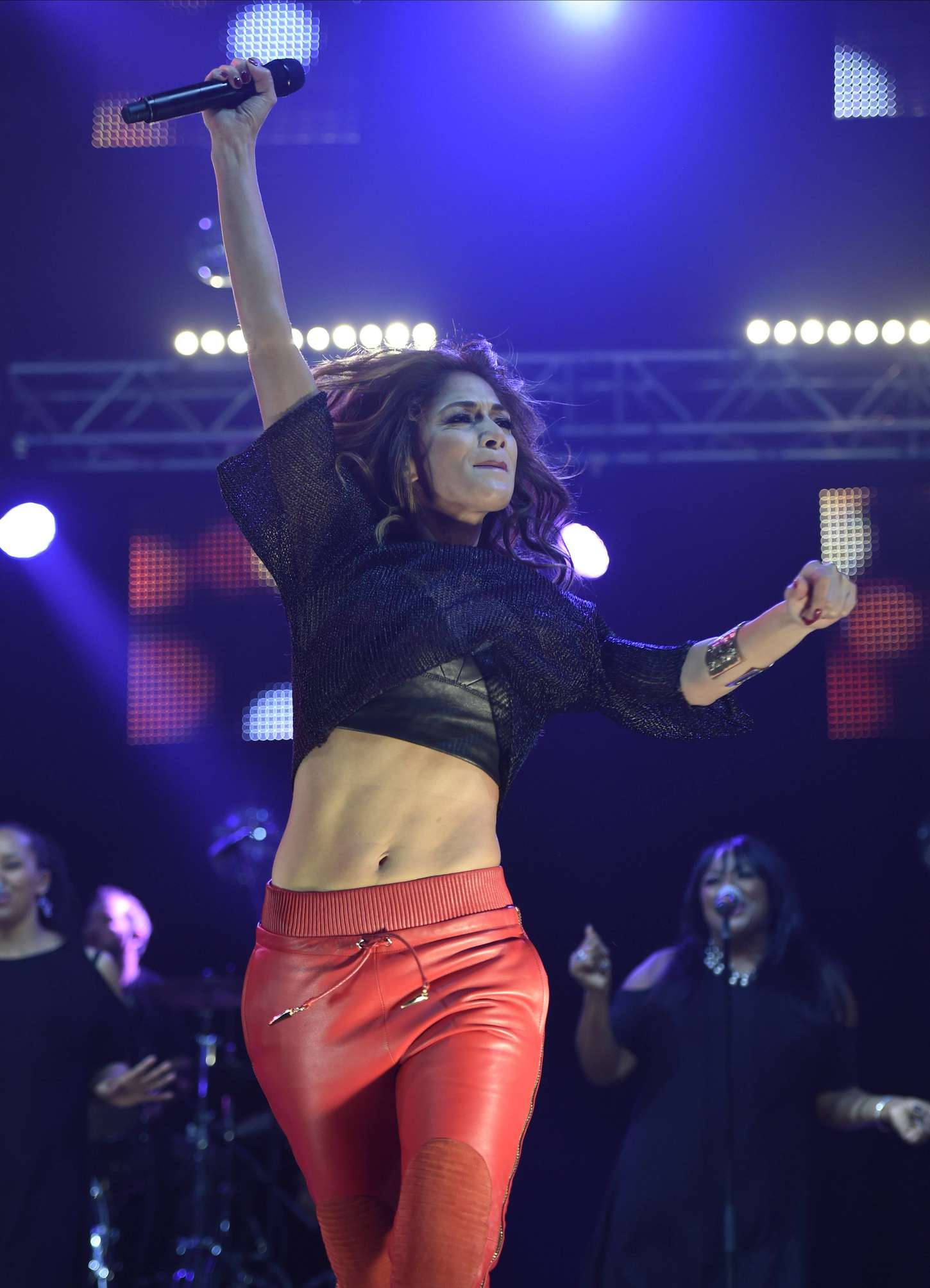 Nicole Scherzinger 2014 : Nicole Scherzinger: Key 103 Christmas Live -02