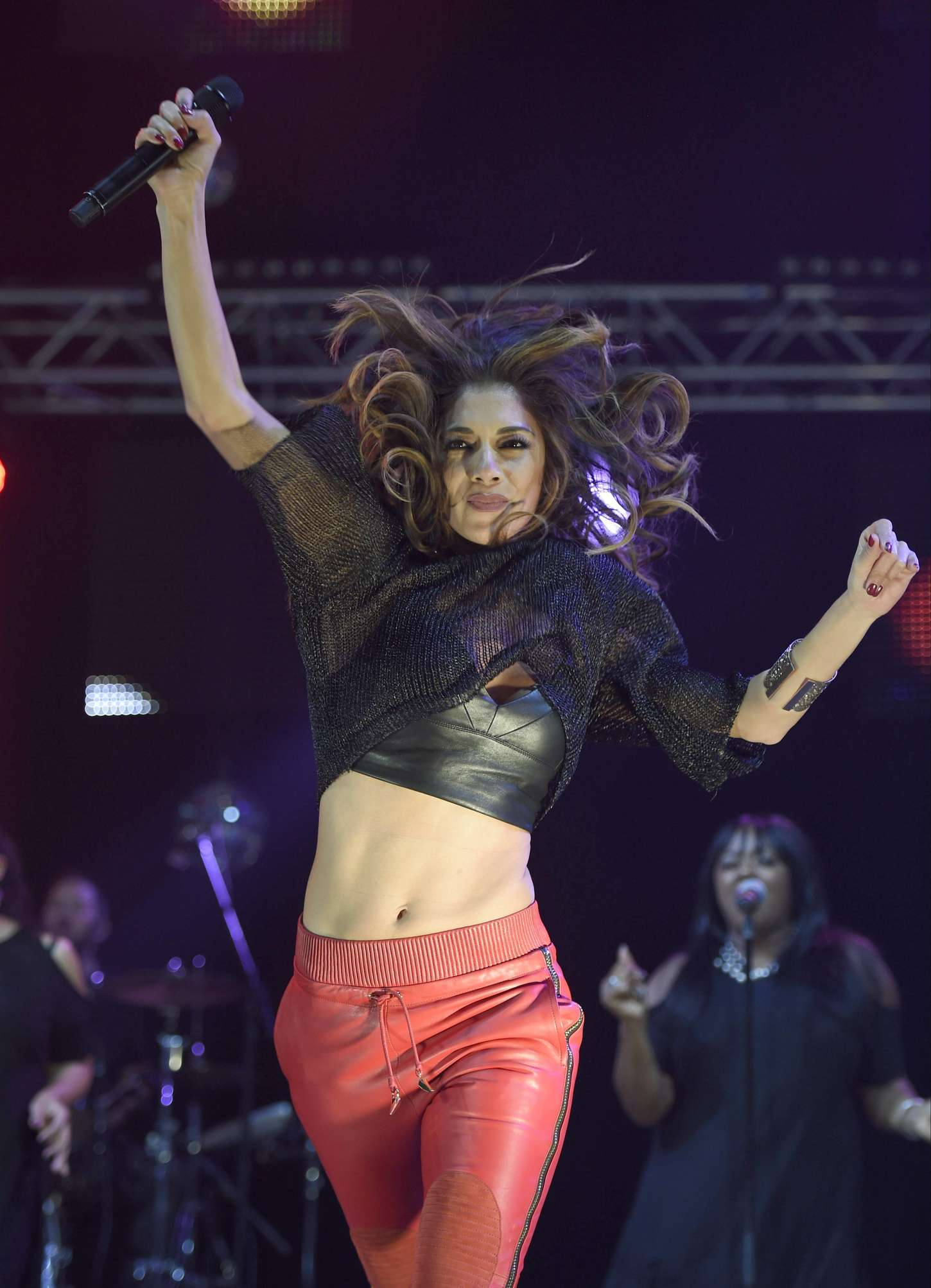 Nicole Scherzinger 2014 : Nicole Scherzinger: Key 103 Christmas Live -03