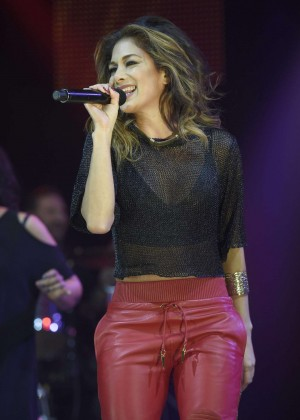 "Nicole Scherzinger - Performs at ""Key 103"" Christmas Live in Manchester"